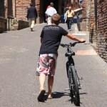 自転車 スポーツ アクティビティ 風景 街並み