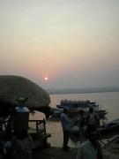 A 5h du matin, bord de Gange