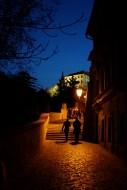 La route qui mène au Château