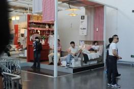 Ikea Pekin= salle de repos public