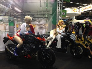 Kawasaki au Japan Expo 2014