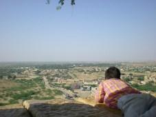 vue du fort (Jaisalmer)