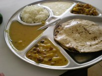 le bahji au chou était très bon mais encore une fois, le raita était un peu louche… (Jaisalmer)