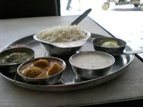Et oui, encore du thali.