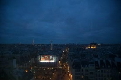 De Centre Pompidou*ポンポドゥーセンターからのパリ