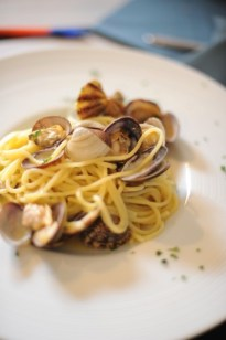 Spaghetti vongole, Tirrenia