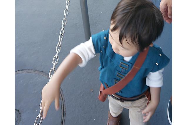 子供用 フリンライダー本格的コスプレ衣装の手作り実録!【2歳児】
