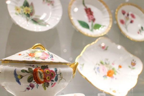 ウェッジウッド博物館の展示物