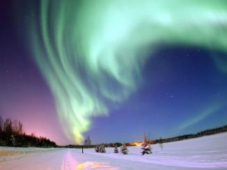 アラスカ オーロラ Alaska Aurora Northern Lights