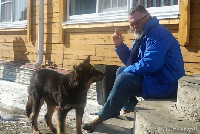 ロシア バイカル湖 わんこ Russia Lake Baikal Dogs
