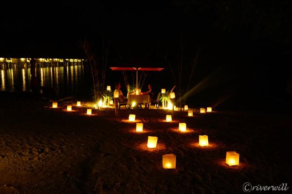 エルニド アプリット島 ビーチディナー El Nido Apulit island Resort