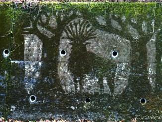 埼玉秩父の定峰峠に謎のジブリ苔アート! Saitama, Japan