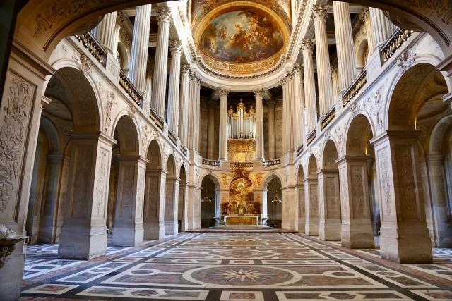 ヴェルサイユ宮殿礼拝堂
