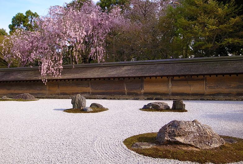 枯山水 日本庭園
