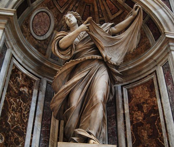 聖ヴェロニカの像