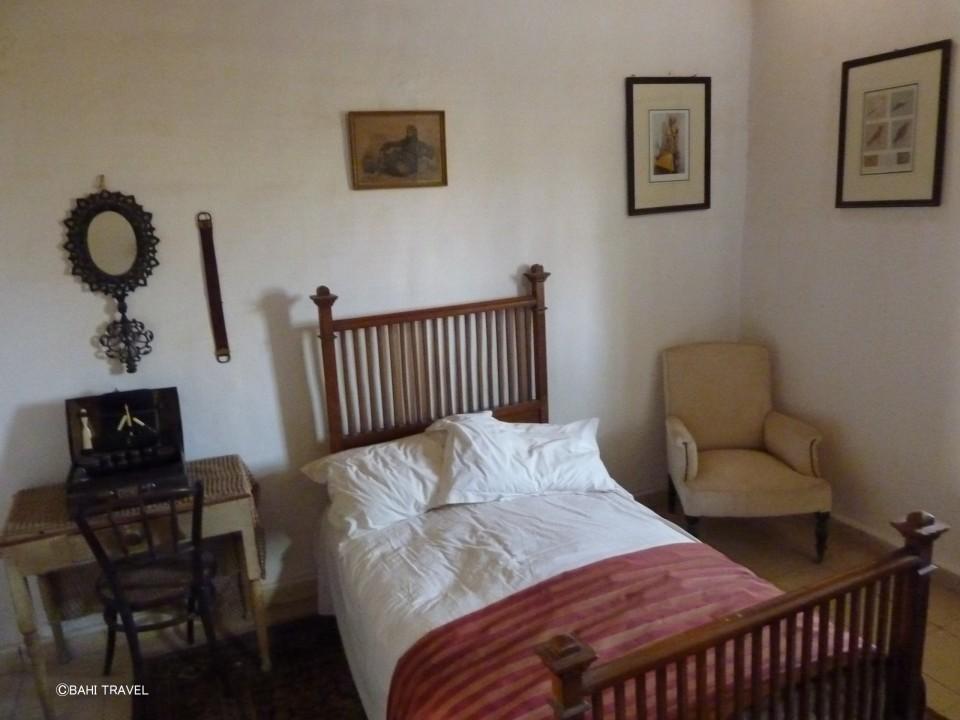 ハワード・カーターの寝室