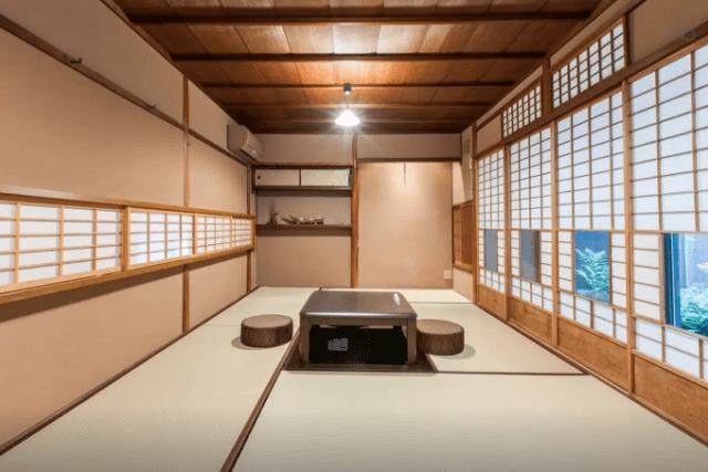 京都上七軒のairbnb