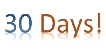 Blog - 30 Days