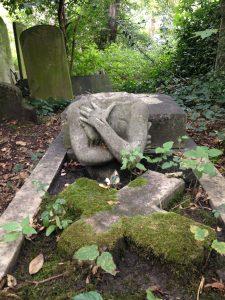 Photograph of gravestone