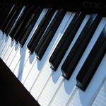 acordes menores no teclado