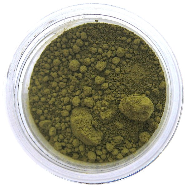 Chartreuse color dust