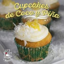 Cupackes Coco con piña