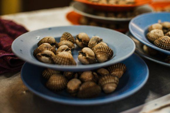 longkang siham melaka stall famous melaka streetfood cockles