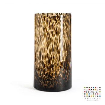Vase leppard Cilinder h 35