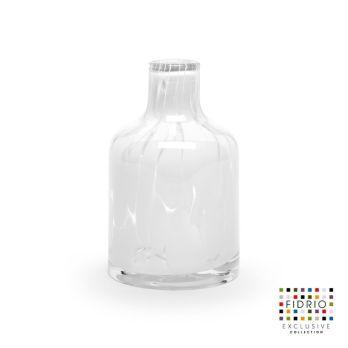 Vase White Granulat H 13