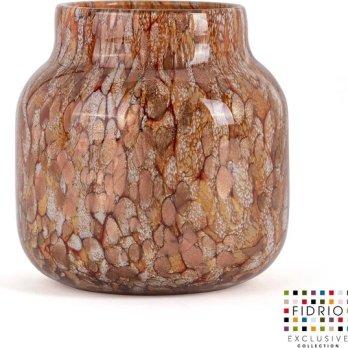 Vase Gold Bloom H 15