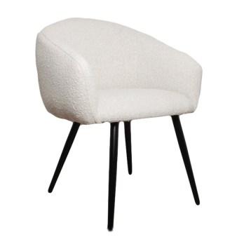 chaise bubble white