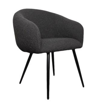 chaise bubble black