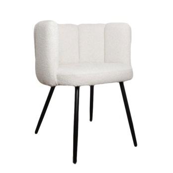 high five chair white pearl