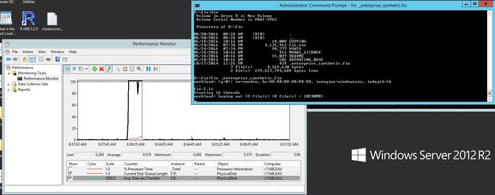 Blasting Tableau Server's Disk