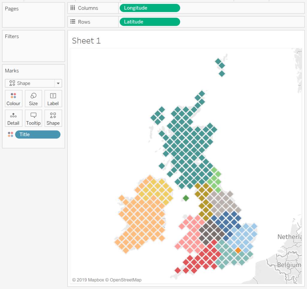 Hex Maps In Tableau