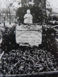 La tombe provisoire de Franz Marc