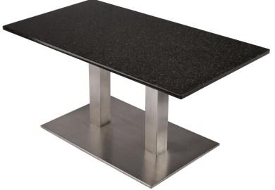 Black Granite Dining Table
