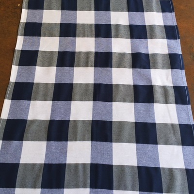 grey stretch chair covers large moon navy and white check runner – the tablecloth hiring company