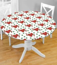 Fitted Vinyl Table Covers with Elastic | Table Covers Depot