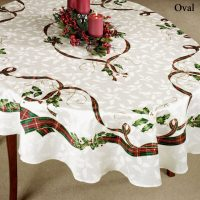 7 Facts That Nobody Told You About Oval Christmas Tablecloths