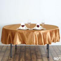 Round Plastic Table Covers With Elastic | Table Covers Depot