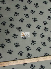 Paw Print Tablecloth Black and White UK | Table Covers Depot