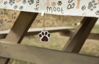 Paw Print Tablecloth for a Dog Party Theme | Table Covers ...