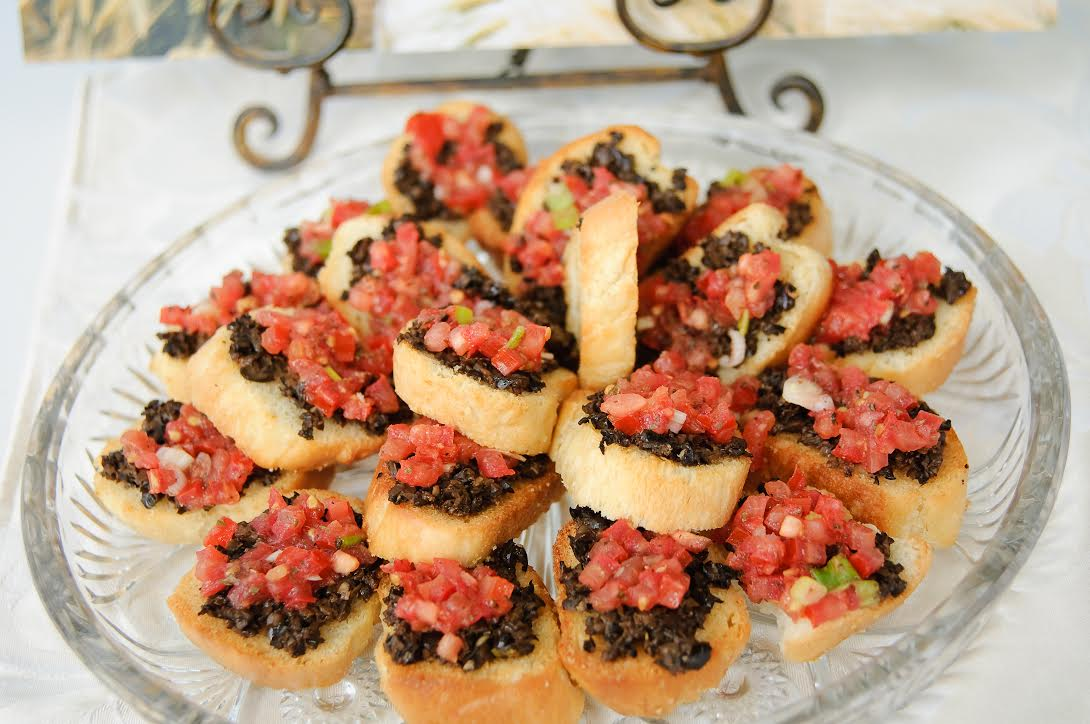 Party Bruschetta Toasts