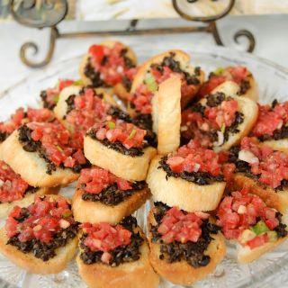 Bruschetta Recipe – A Party Favorite