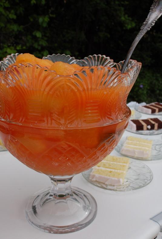 orange pineapple slush