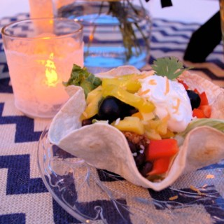 Creative Weddings: Taco Salad Bar