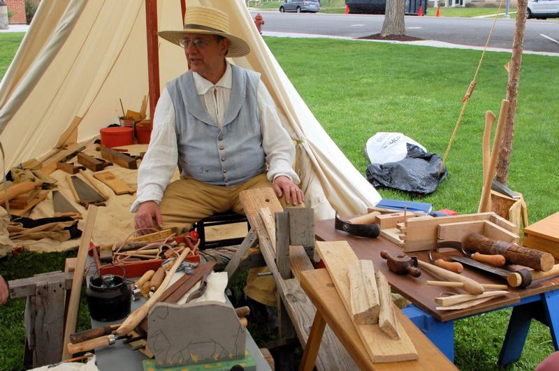 pioneer era carpentry tools.