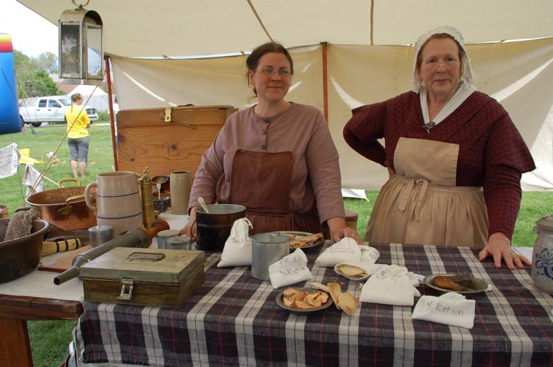 pioneer cooking demonstration