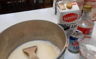 caramel making ingredients
